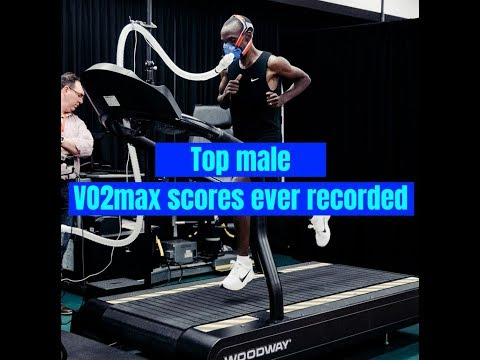Top male VO2max scores ever recorded
