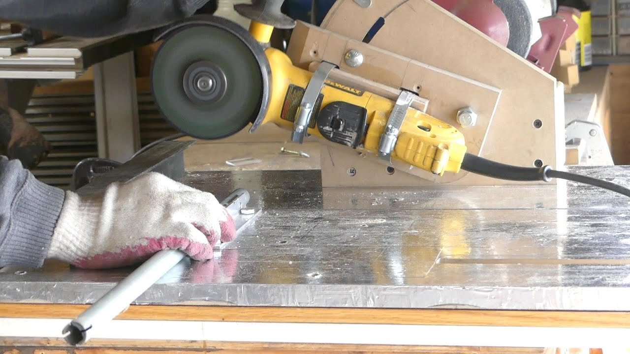 Homemade Angle Grinder Holder With Multi Functioning