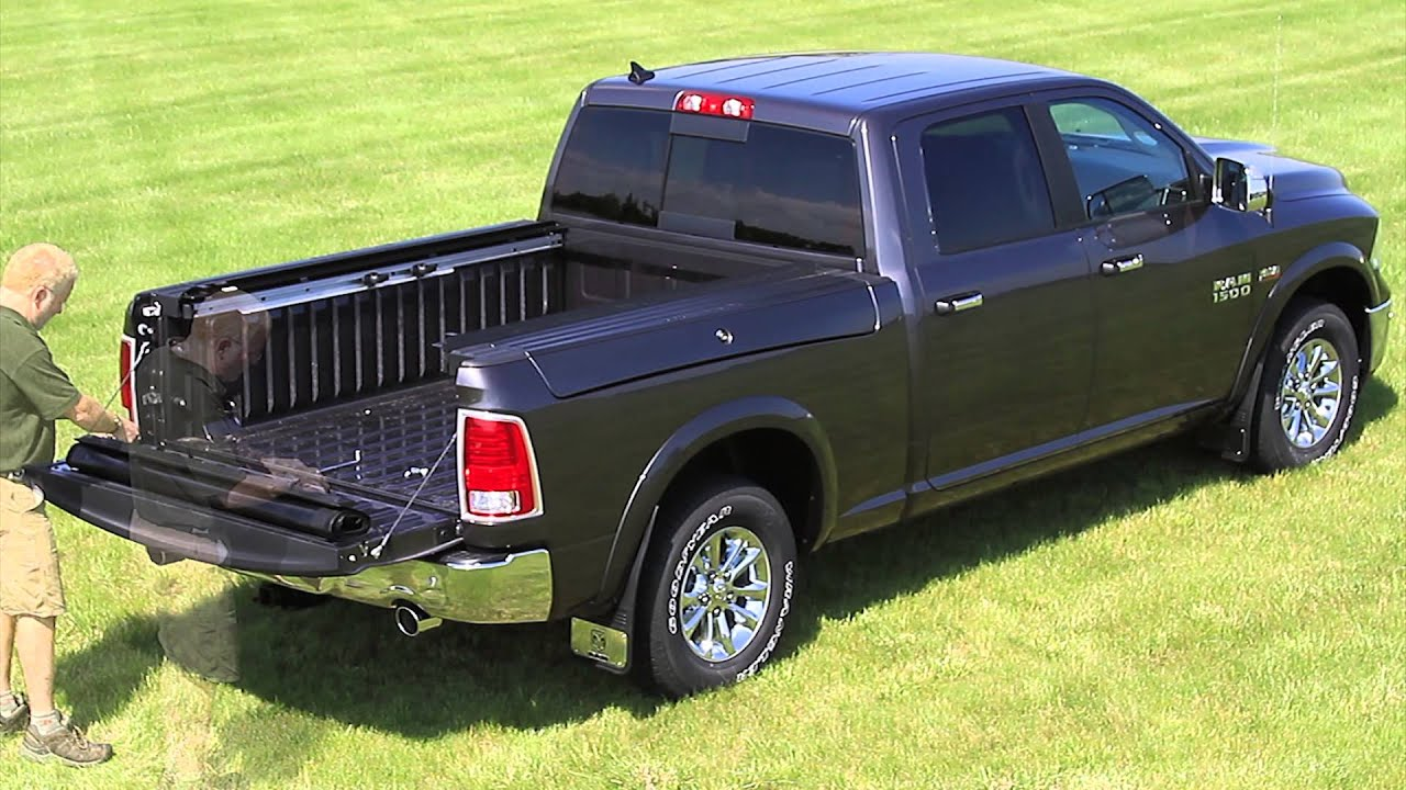 Quick Install Access 174 Limited Tonneau Cover On Dodge