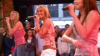 Atomic Kitten - The Tide Is High @ Good Morning America, 09.05.2003