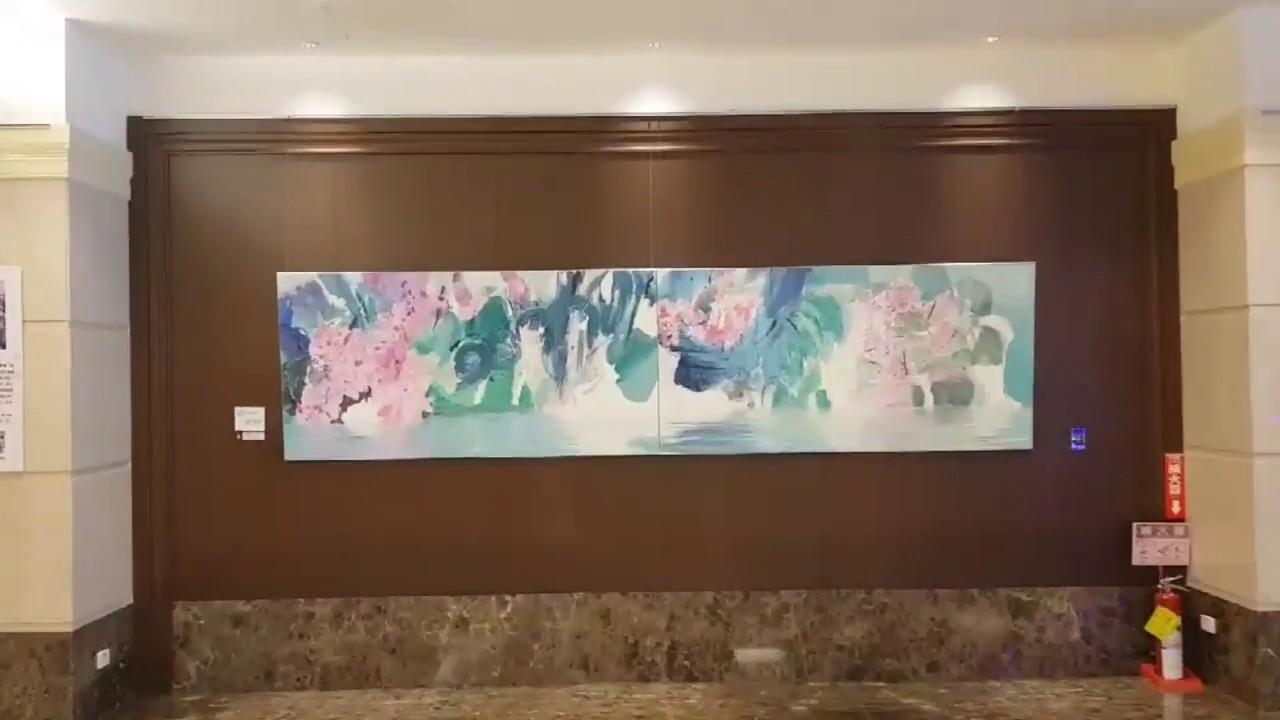 鄭建寧油畫展-長榮酒店展