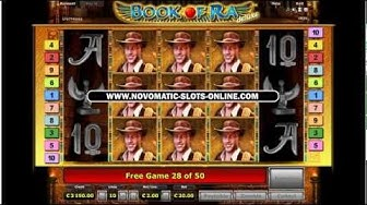 50 Free Games On Book Of Ra | €20 Bet