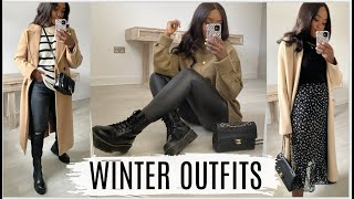 WINTER OUTFIT IDEAS 2021 | BACK TO BASICS: EP1 CHUNKY BOOTS  *NEW STYLE SERIES*