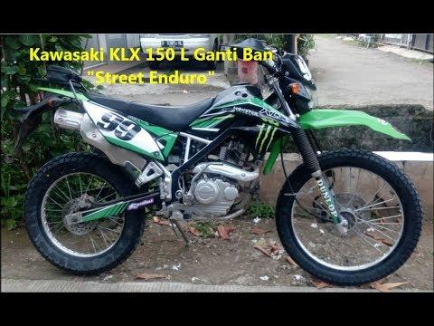 """KLX 150 L Ganti Ban """"Street Enduro"""" SWALLOW SB117"""
