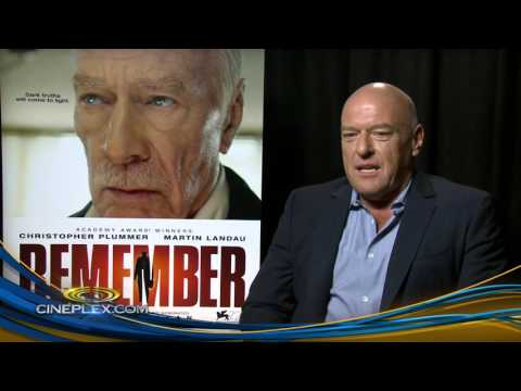 Christopher Plummer, Dean Norris and Martin Landau on Remember
