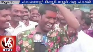 Bithiri Sathi at Bonalu Festival Celebrations in Patancheru | Hyderabad | V6 News