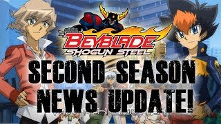Beyblade Zero-G/Shogun Steel: Second Season Update! Release Date + Old Characters & More [1080p-HD]