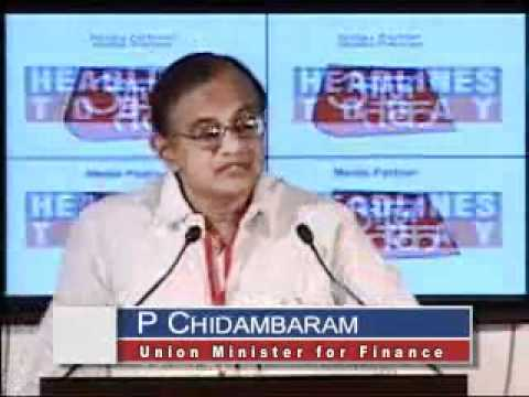 P. Chidambaram speech at India Today Conclave 2007