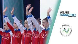 2019 Tashkent Rhythmic Gymnastics World Cup – Highlights Group competition