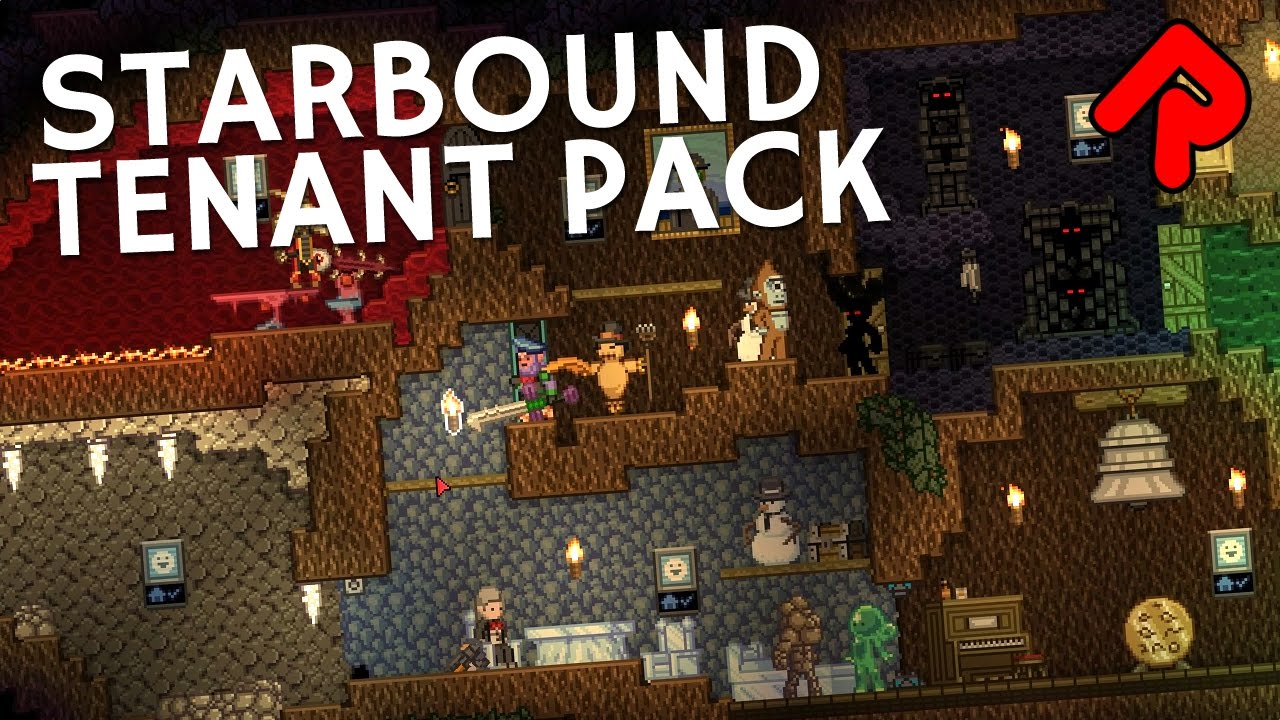New Starbound Tenant Pack mod: Get more colony NPCs! | Best Starbound mods