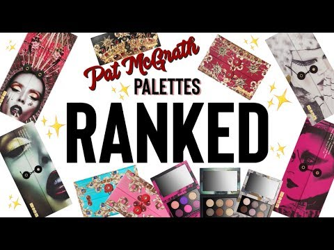Pat McGrath Palettes RANKED! | Least to Most FAVORITE!
