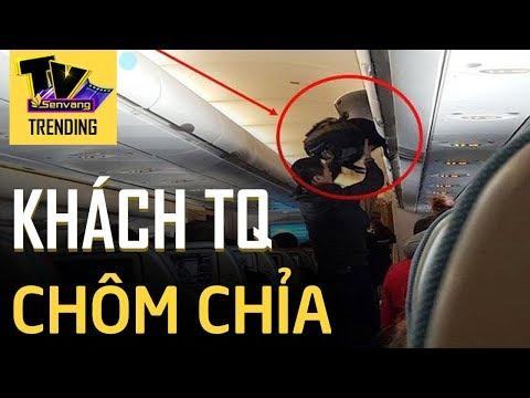 Khách Trung Quốc chôm tiền của khách Nhật trên máy bay Vietnam Airlines