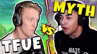 Tfue vs Myth - Fortnite Playground (NA West Server)