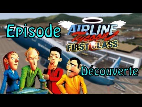 Airlines Tycoon    ''une nouvelle compagnie !''    episode:  Decouverte et Détente [let's play]