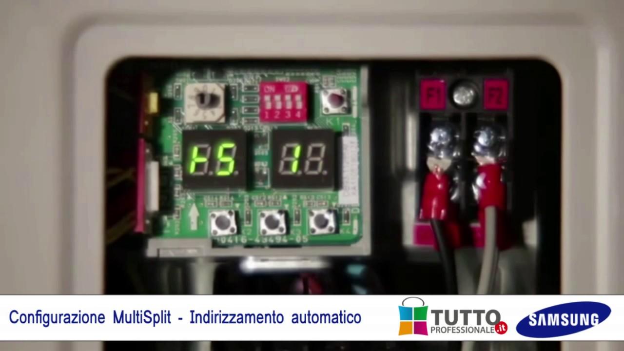 Schema Elettrico Tv Samsung : Configurazione installazione climatizzatore multi split
