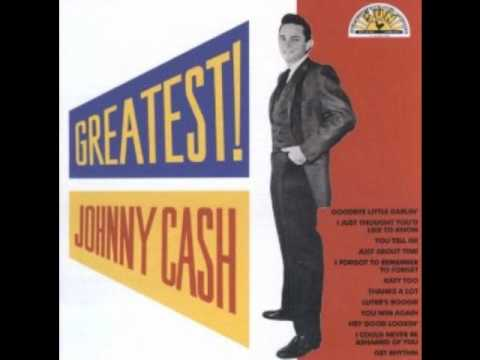 Johnny Cash-It's Just About Time