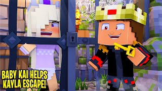Baby Kai BETRAYS HIS MOM AND SAVES HIS SISTER.... Minecraft