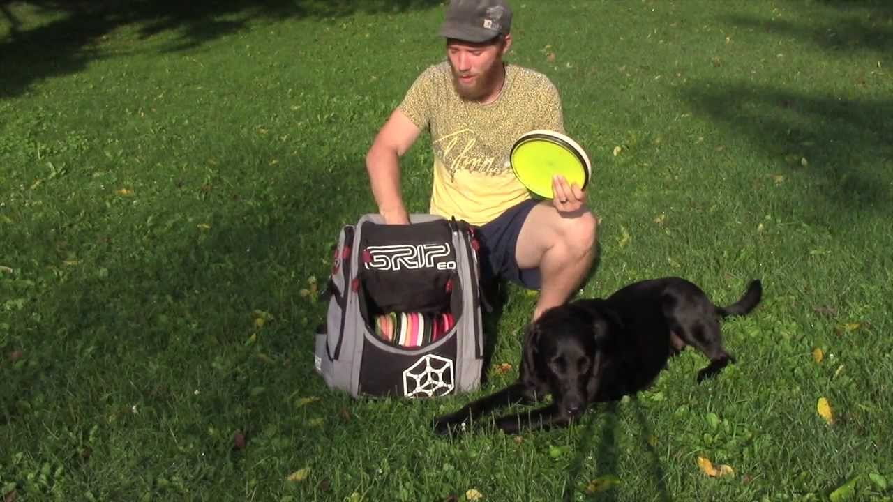 Grip A Series Disc Golf Bag Review