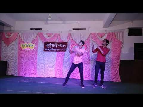 Wedding dance by SAMARTH & JAYDEEP|you tera muskurana |tera deedar hua |song parody