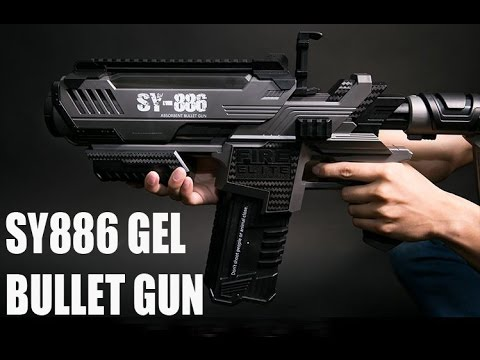 P90 Smg Toy Gun Electric Hydro Blaster Gel Ball Sho