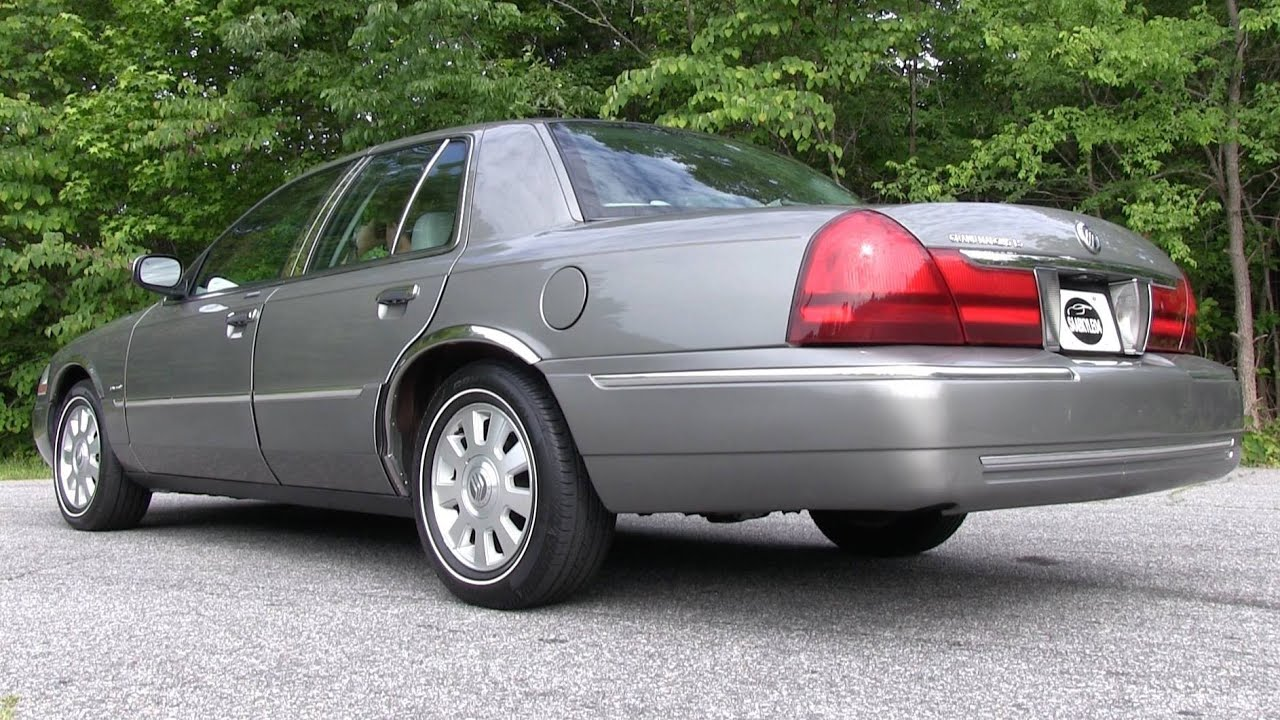 Pure sound 2003 mercury grand marquis w borla cat back dual exhaust before after comparison youtube