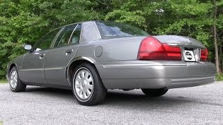 Pure Sound: 2003 Mercury Grand Marquis w/ Borla Cat-Back Dual Exhaust - Before & After Comparison