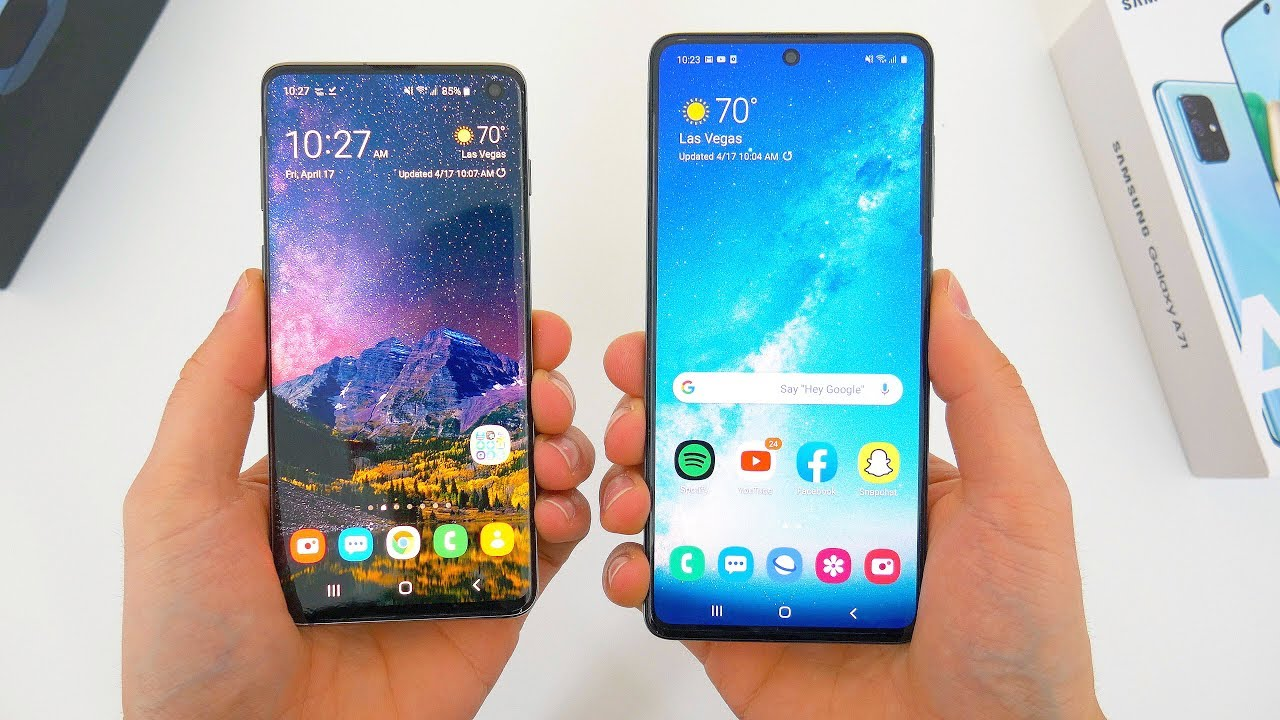 Photo of Used Samsung Galaxy S10 ($430) vs New Samsung Galaxy A71 ($380): Which Is Better? – سامسونج