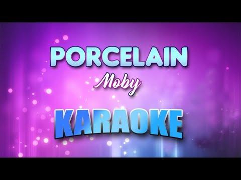 Moby - Porcelain (Karaoke version with Lyrics)