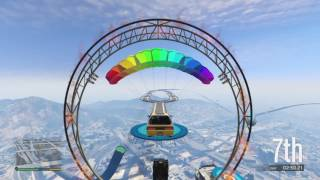 Grand Theft Auto V special stunt races a parachute is a secret weapon 1.1