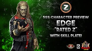 """Character Preview: Edge """"Rated Z"""" Gameplay WITH Skill Plate! / WWE Champions 😺 screenshot 2"""