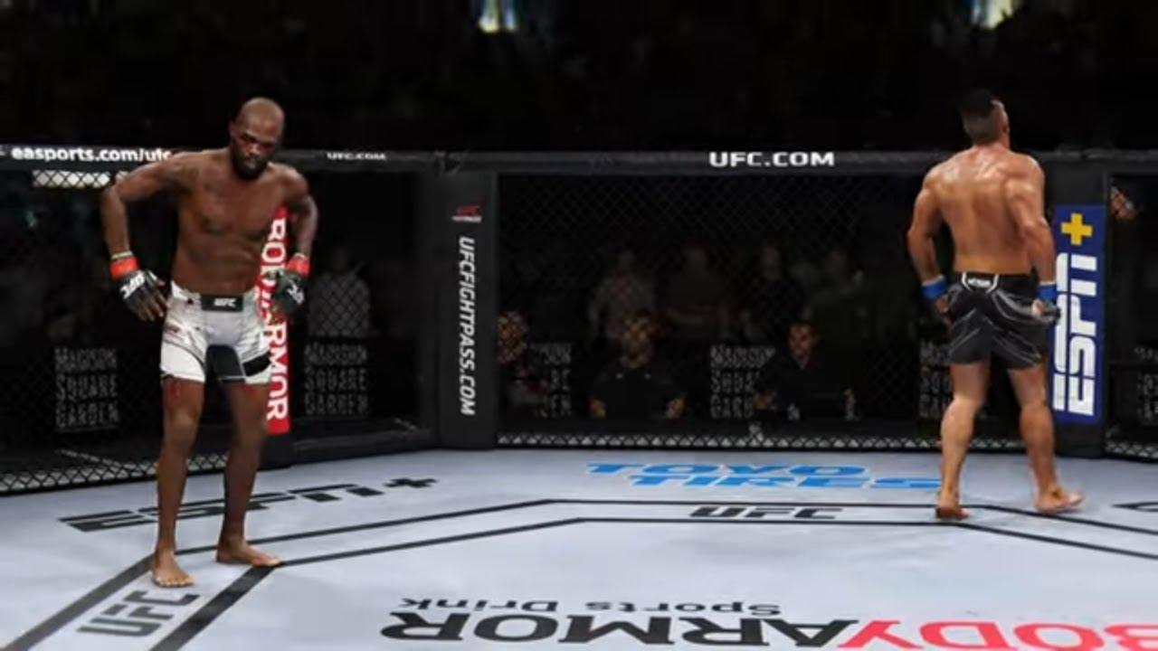 Jon Jones vs. Alistair Overeem - EPIC FIGHT | EA Sports UFC 4