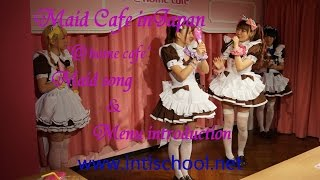 "Maid Cafe in Japan (extra)  ""Happy Happy Morning"""