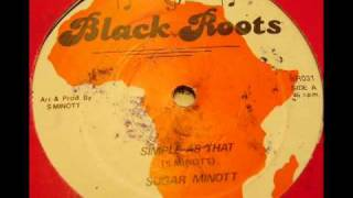 Sugar Minott - Simple As That BR031