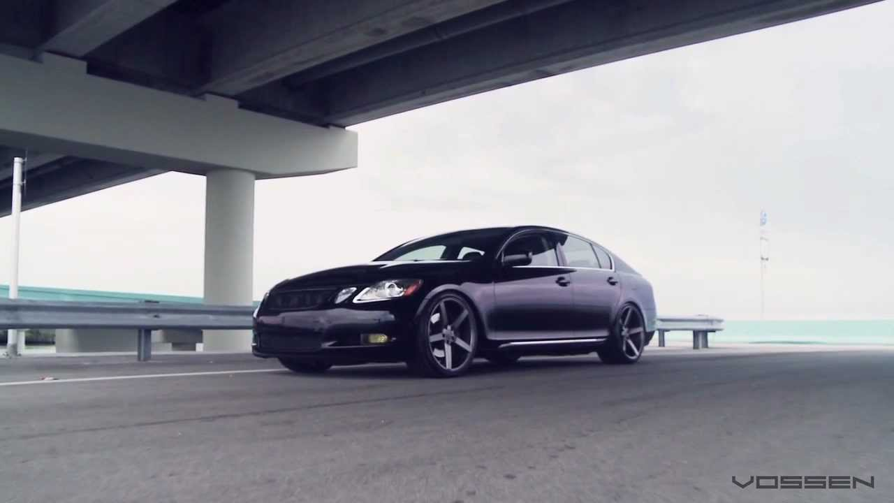 Lexus Gs450h Hybrid On 20 Quot Vossen Vvs Cv3 Concave Wheels