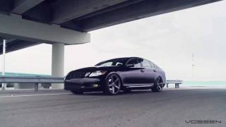 "Lexus GS450h Hybrid on 20"" Vossen VVS-CV3 Concave Wheels / Rims"