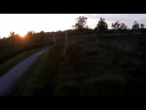 Flight Night Part 2 - FPV 250 quadcopter racing/practice
