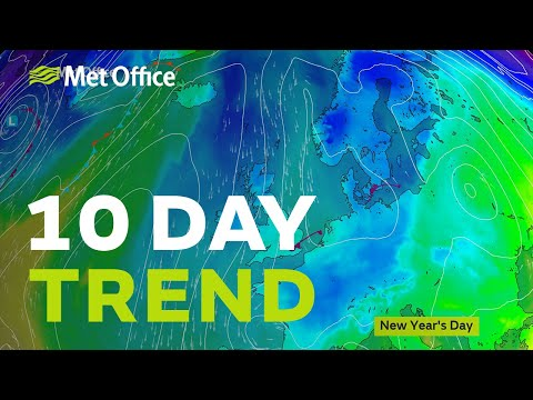 10 Day Trend - The cold continues into 2021 but will we see more snow?