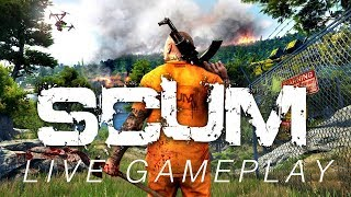 SCUM // NEW SURVIVAL GAME // EARLY ALPHA ACCESS // LIVE GAMEPLAY