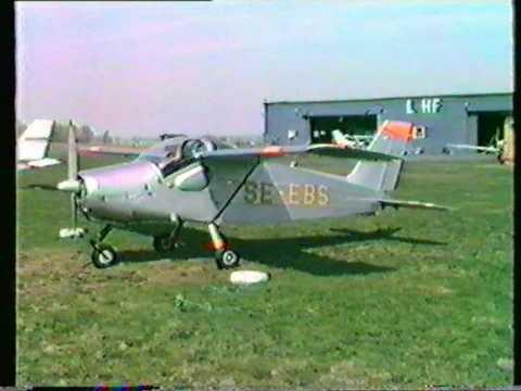 Flygfältet i Eslöv, 1986