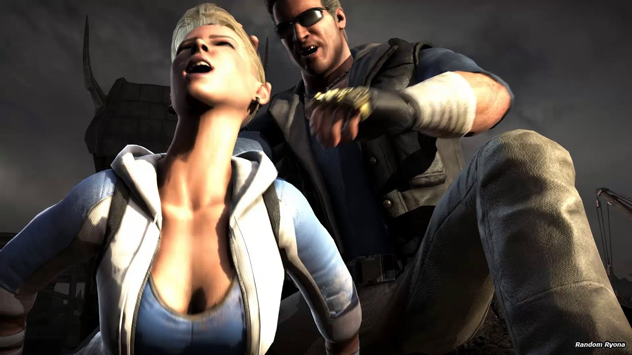 Mortal Kombat X Fatalities on Cassie Cage Endurance Outfit