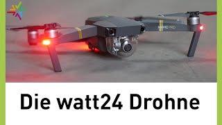Die watt24 Drohne - Neue Blickwinkel für Test- und Vergleichsvideos
