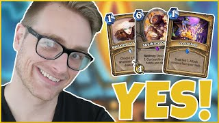 Hearthstone | YES Paladin Finds a WIN Condition! | Wild Mecha'thun Yes Paladin | Saviors of Uldum