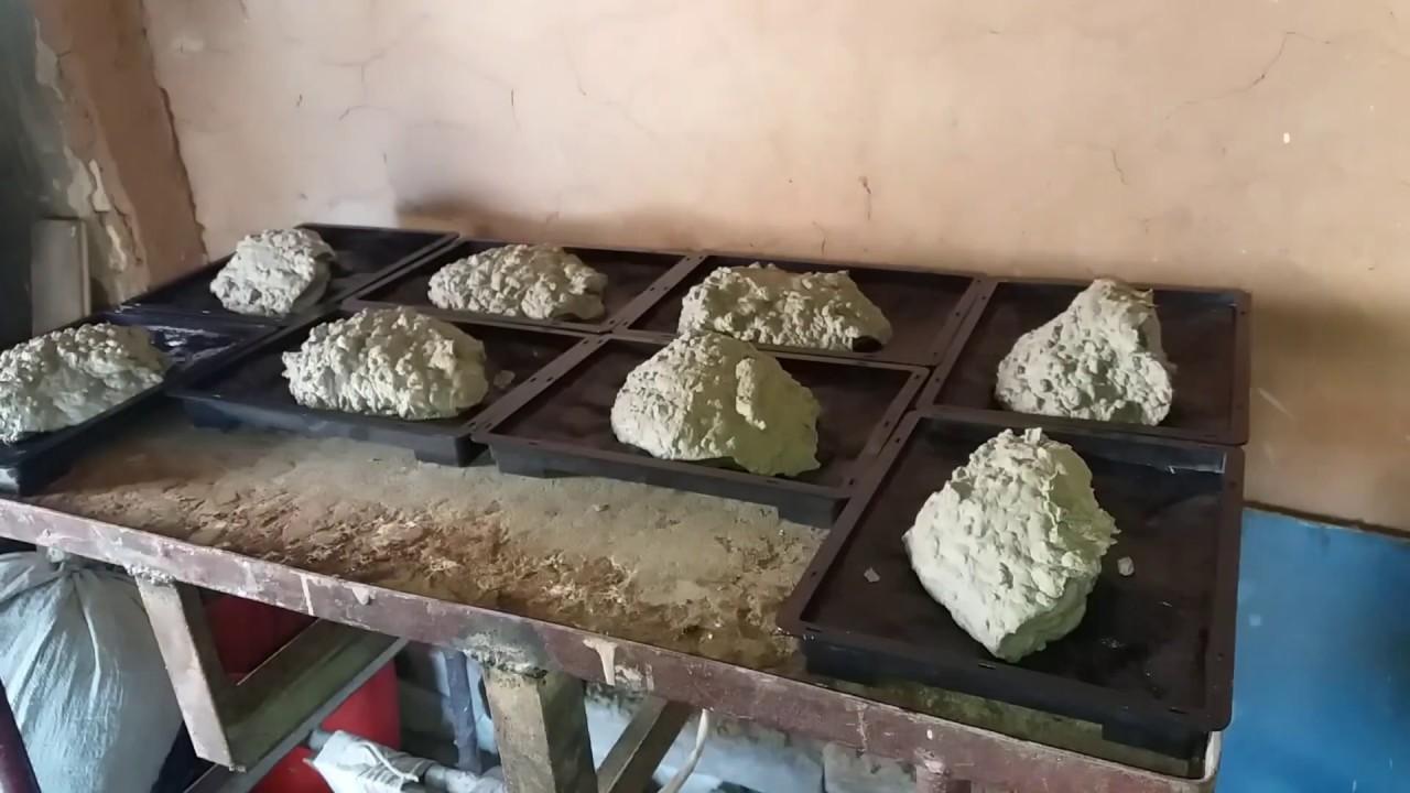 Рваный камень своими руками