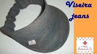 PAP – Viseira tecido jeans