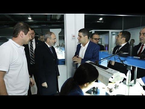 Армения и алмазы. Премьер Армении открыл алмазообрабатывающую фабрику в Котайкской области