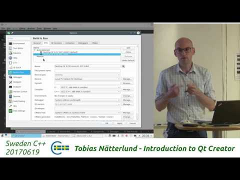 Tobias Nätterlund - Introduction to Qt Creator