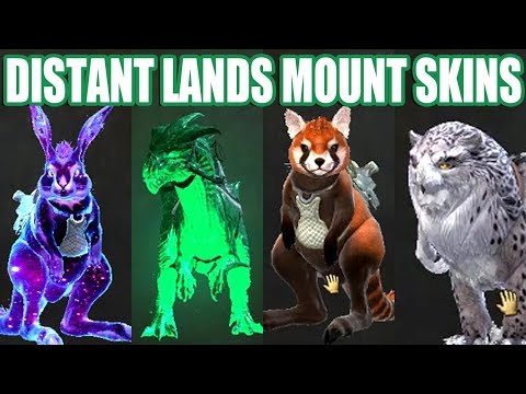 New Mount Skins Reaction + Opening (Distant Lands) ● Guild Wars 2 thumbnail