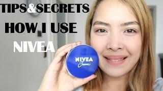 Skin Whitening|5 Amazing Ways How to Use Nivea Cream|Emmas VeeLOG