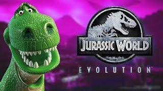 🦕 JURASSIC WORLD EVOLUTION : Le test en TOC   Gameplay FR