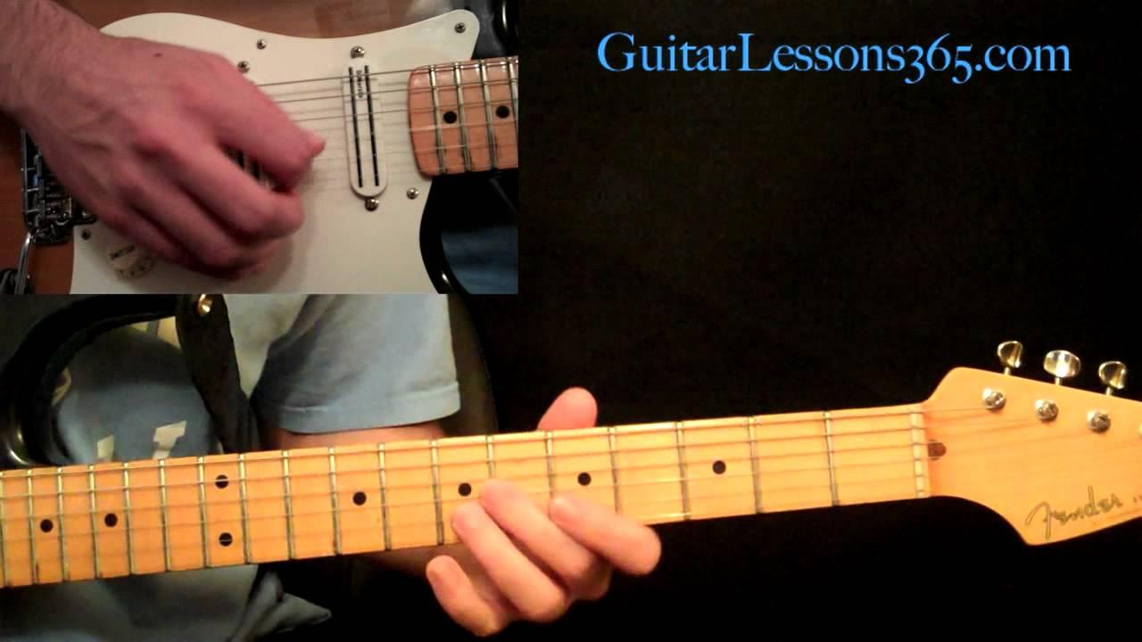 Stevie Ray Vaughan - Texas Flood Guitar Lesson Pt.4 - Verse 3